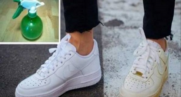 Use This Simple Trick To Clean Your Dirty White Shoes And