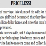 After 37 Years Of Marriage, Husband Dumps His Wife For His Secretary. What She Does When He Demands The Family Home Is Priceless!