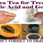 Papaya Tea for Treating Gout and Uric Acid Problems….