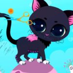 Fun Pet Care Kids Games Play Pet Salon with Little Kitty & Witches Funny Games for Baby Children