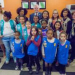 Homeless girls bond in Girl Scout Troop 6000