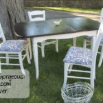 Garbage to Gorgeous Episode #10:  Shabby Chic Dining Room Makeover on a Budget DIY!