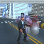 Man fighting in the middle of town is not Grand Theft Auto for iOS