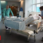 Patients 'dying in hospital corridors'